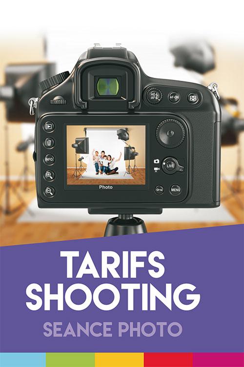 Tarifs Shooting