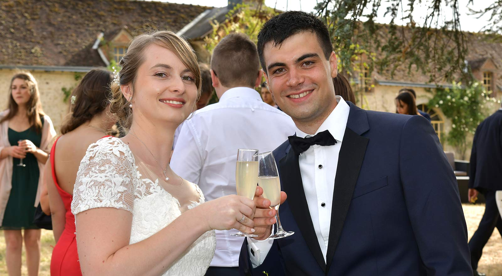 Photos de couple de mariage